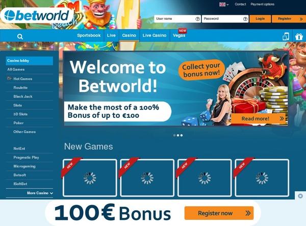 Betworld Bet Bonus