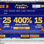 Bingo Zino Free Rolls
