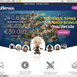 Casino Heroes Mobile App