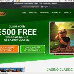Casinoclassic Match Bonus