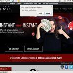 Casinoextreme Free Code