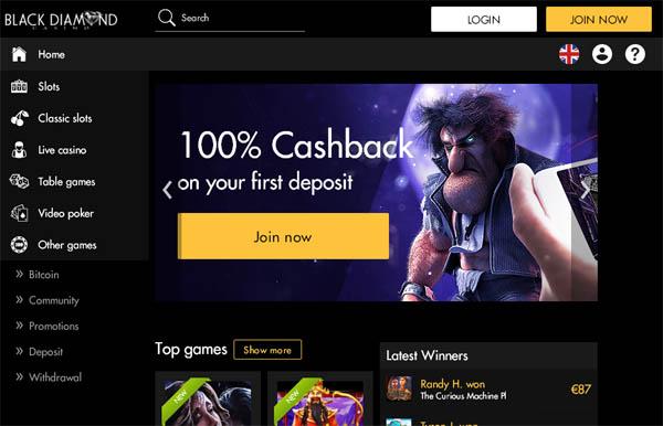 Deposit Paypal Blackdiamondcasino