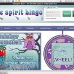 Free Spirit Bingo Scratch