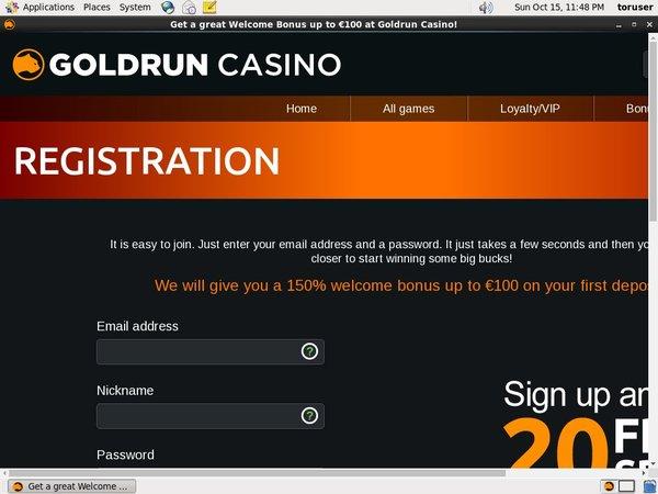 Gold Run Casino Mobile Login