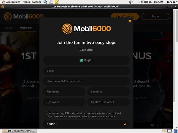Mobil6000 Internet Casino