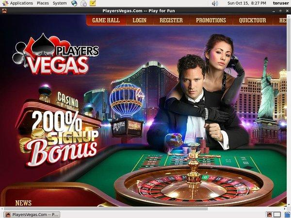 Players Vegas Konto