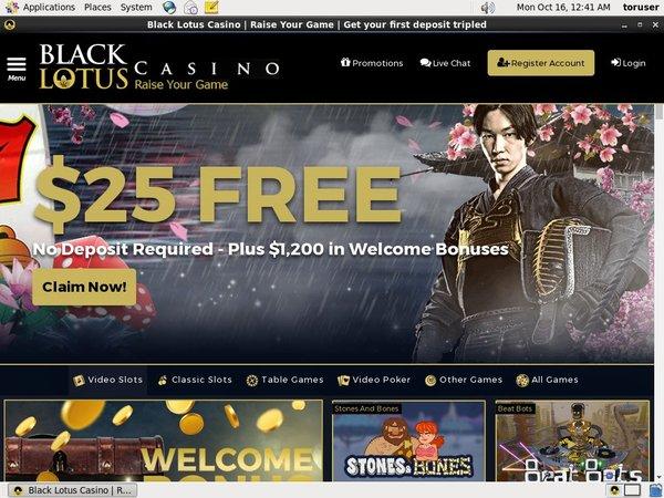 Register Black Lotus Casino