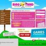 Sign Up Bingo Yard