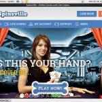 Spinsville Signup