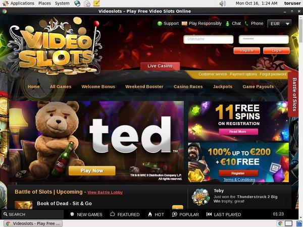 Video Slots Vip Lounge