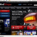 Red Kings Poker Advertisement