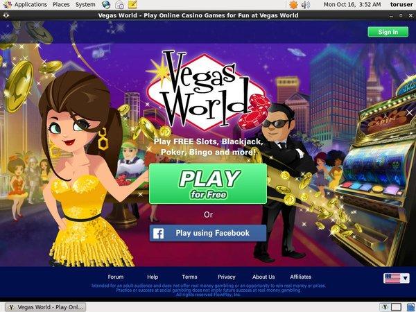 Vegasworld Gratis Slots