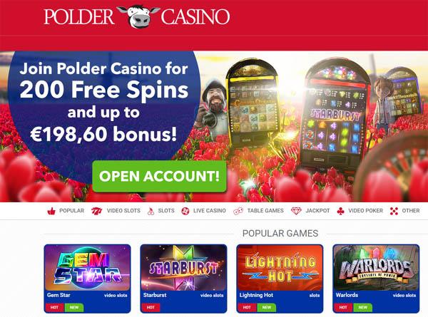 Poldercasino Top Online Casinos
