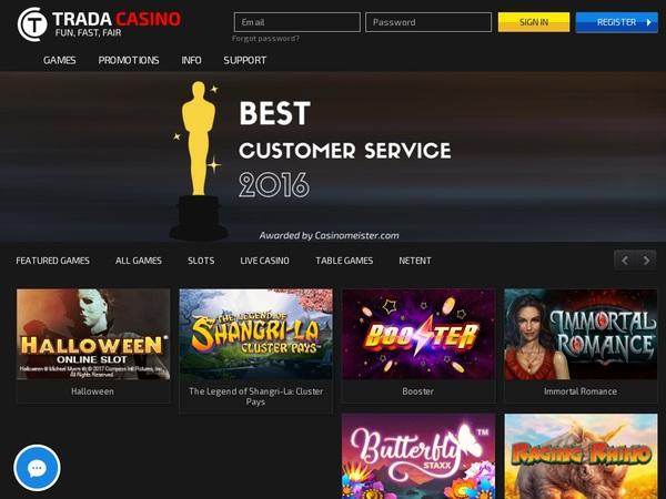 Trada Casino Games App