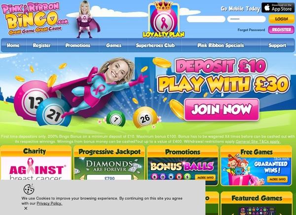 Betting Pinkribbonbingo