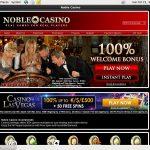 Noble Casino 보너스