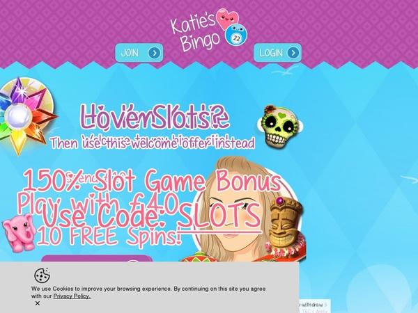 Katies Bingo игровые автоматы