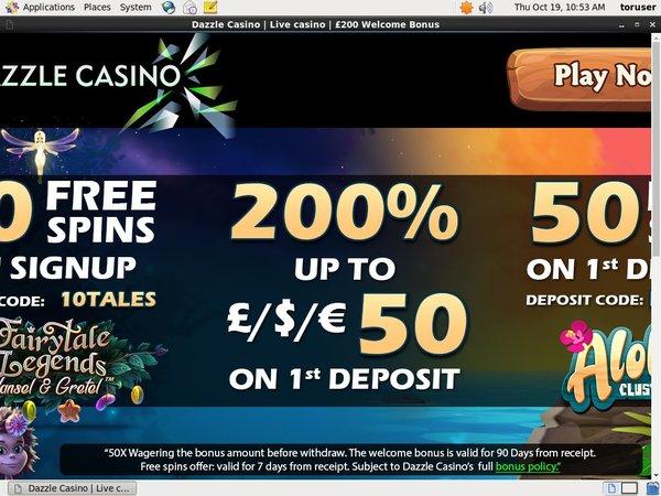 Dazzle Casino Vip Offer