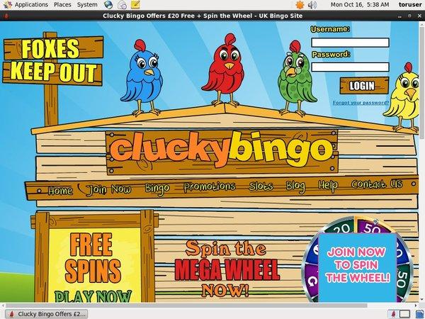 Cluckybingo Free Code