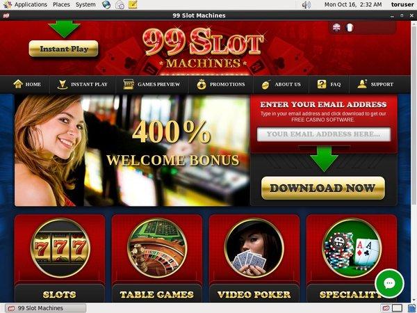 99 Slot Machines Membership